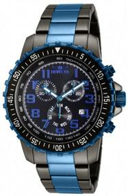 Invicta Men's 11371 Specialty Quartz Chronograph Black Dial Watch