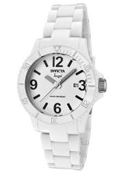 Invicta Women's 1207 Angel Quartz 3 Hand White Dial Watch