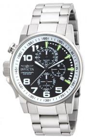 Invicta Men's 14955 I-Force Quartz Multifunction Black Dial Watch
