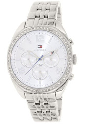 Tommy Hilfiger Mia Multifunction Silver Dial Stainless Steel Ladies Watch