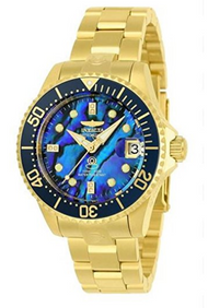 Invicta Women's 'Pro Diver' Automatic and Stainless Steel Diving Watch, Color:Gold-Toned (Model: 23987) …