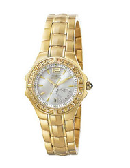 Invicta Women's 6392 Wildflower Collection Diamond Accented 18k Gold-Plated Watc