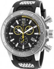 Invicta Men's 19576 Jason Taylor Quartz Chronograph Black Dial Watch