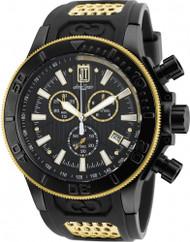 Invicta Men's 19577 Jason Taylor Quartz Chronograph Black Dial Watch