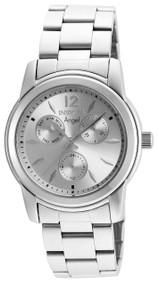 Invicta Women's 21690 Angel Quartz Chronograph Silver Dial Watch