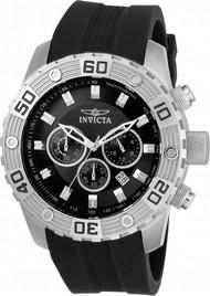 Invicta Men's 21825 Pro Diver Quartz Chronograph Black Dial Watch