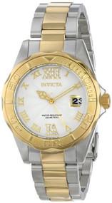 Invicta Women's 14791 Pro Diver Analog Display Japanese Quartz Two Tone Watch
