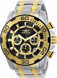 Invicta Men's 22322 Pro Diver Quartz Chronograph Black Dial Watch