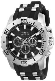 Invicta Men's 22555 Pro Diver Quartz Chronograph Black Dial Watch