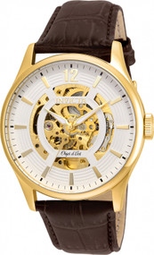 Invicta Men's 22595 Objet D Art Automatic 3 Hand White Dial Watch
