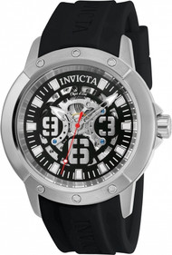 Invicta Men's 22629 Object D Art Automatic 3 Hand Black Dial Watch