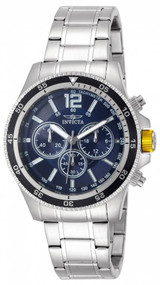 Invicta Men's 13974 Specialty Quartz Chronograph Blue Dial Watch