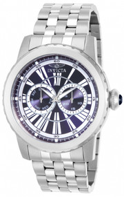 Invicta Men's 14587 Specialty Quartz 3 Hand Blue Dial Watch