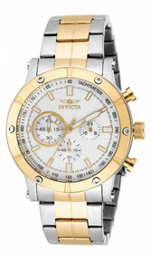 Invicta Men's 18164 Specialty Quartz Multifunction Silver Dial Watch