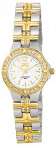 Invicta Women's 0127 Wildflower Quartz 3 Hand White Dial Watch