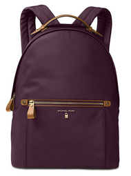 MICHAEL Michael Kors Kelsey Large Nylon Backpack (Damson) 30F7GO2B7C-599