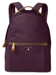 MICHAEL Michael Kors Kelsey Large Nylon Backpack (Damson) 30F7GO2B7C-599