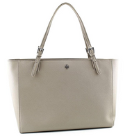 Tory Burch York Buckle Tote in French Gray  22159613-022