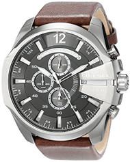 Diesel Men's DZ4290 Diesel Chief Series Analog Display Analog Quartz Brown Watch