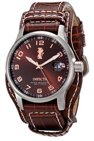 Invicta Men's 12553 I-Force Quartz 3 Hand Brown Dial Watch