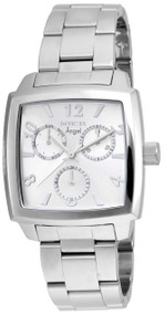Invicta Women's 21709 Angel Quartz Chronograph Silver Dial Watch