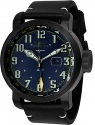 Invicta Men's 22254 Aviator Quartz Multifunction Blue Dial Watch