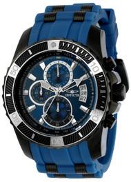 Invicta Men's 22432 Pro Diver Quartz Chronograph Blue Dial Watch