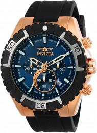Invicta Men's 22524 Aviator Quartz Multifunction Blue Dial Watch