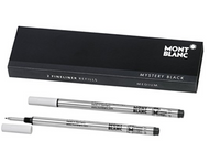 Mont Blanc Fineliner Refills Medium Mystery Black (2 Pack) 110149