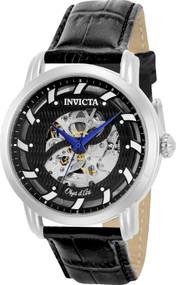 Invicta Men's 22633 Objet D Art Automatic 3 Hand Black Dial Watch