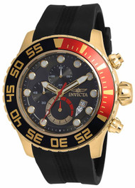 Invicta Men's 19246 Pro Diver Quartz Multifunction Dark Grey Dial Watch