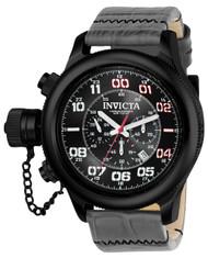Invicta Men's 22289 Russian Diver Quartz Multifunction Black Dial Watch