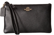 COACH Women's Box Program Small Wristlet Li/Black One Size 16111B-LIBLK