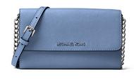 MICHAEL Michael Kors Women's Jet Set Large Phone Cross Body Bag (Denim Blue)32S4STVC3L-405