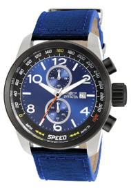 Invicta Men's 19411 Aviator Quartz Multifunction Blue Dial Watch