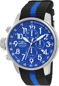 Invicta Men's 22847 I-Force Quartz Multifunction Blue Dial Watch