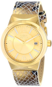 Invicta Women's 17296 Angel Analog Display Japanese Quartz Gold Watch [Watch]...