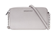 Michael Kors Jet Set Travel Medium Crossbody - Pearl Grey 32T6STVC6L-081