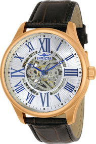 Invicta Men's 23636 Vintage Automatic 3 Hand Silver Dial Watch