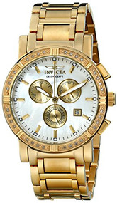 Invicta Men's 4743 II Collection Limited Edition Diamond Gold-Tone Watch [Wat...