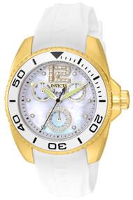 Invicta Women's 21703 Angel Quartz Chronograph White Dial Watch