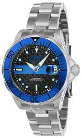 Invicta Women's 23151 Pro Diver Automatic 3 Hand Black Dial Watch