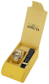 Invicta Men's 23652 Pro Diver Quartz Chronograph Gold Dial Watch