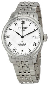Tissot Men's T41148333 Le Locle Silver Textured Dial Watch [Watch] Tissot