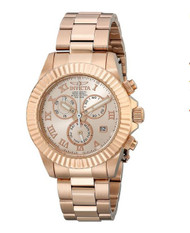 Invicta Women's 18959 Angel Analog Display Japanese Quartz Rose Gold Watch