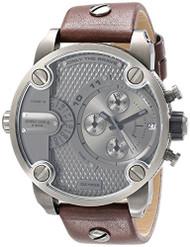 Diesel Men's DZ7258 The Daddies Series Analog Display Analog Quartz Brown Watch
