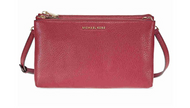 Michael Kors Adele Double Zip Crossbody - Mulberry