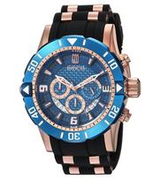 Invicta Men's 24169 Jason Taylor Quartz Chronograph Blue Dial Watch