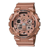 G-Shock GA100GD-9A Classic Series Designer Watch - Rose Gold / One Size