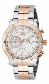 Invicta Men's 18165 Specialty Quartz Multifunction Silver Dial Watch